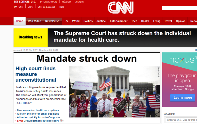 CNN fail