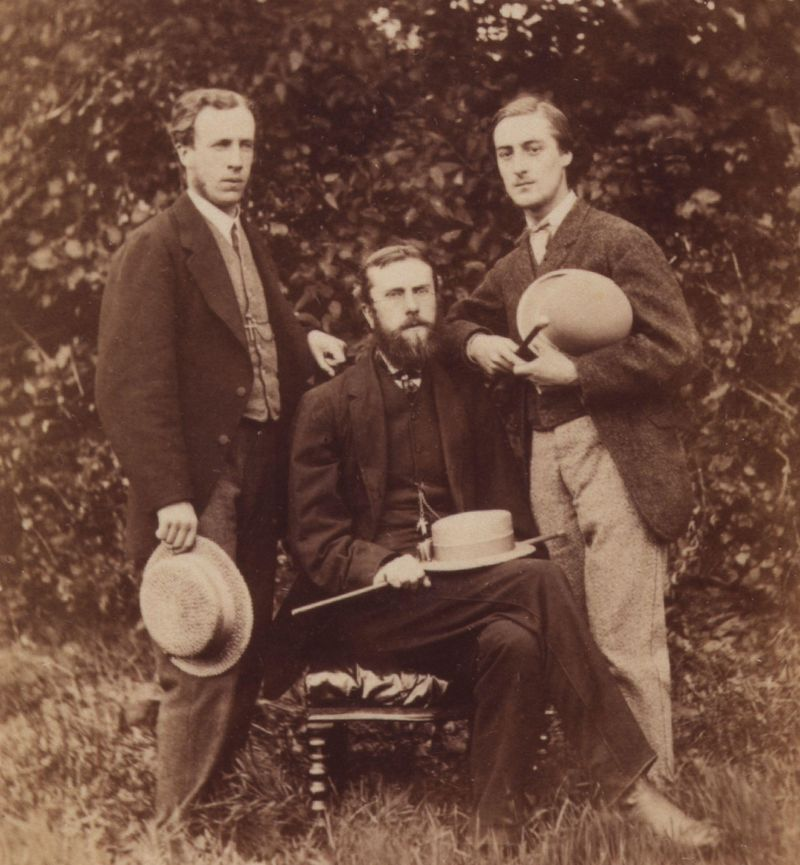 Alfred_William_Garrett;_William_Alexander_Comyn_Macfarlane;_Gerard_Manley_Hopkins_by_Thomas_C._Bayfield