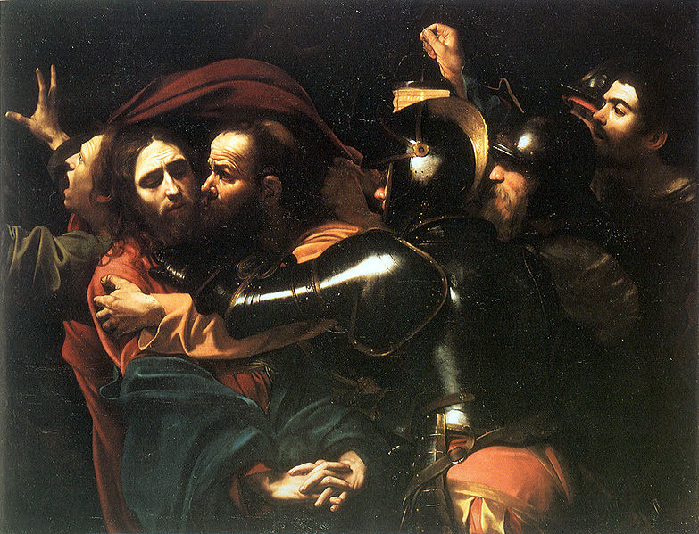 783px-Caravaggio_-_Taking_of_Christ_-_Dublin_-_2